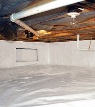crawl space repair system in Goshen
