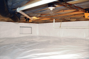 Crawl Space Repair After in Elkhart