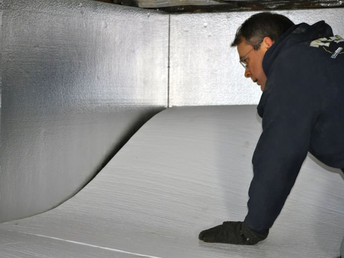 Crawl Space Insulation With Terrablock In Indiana And