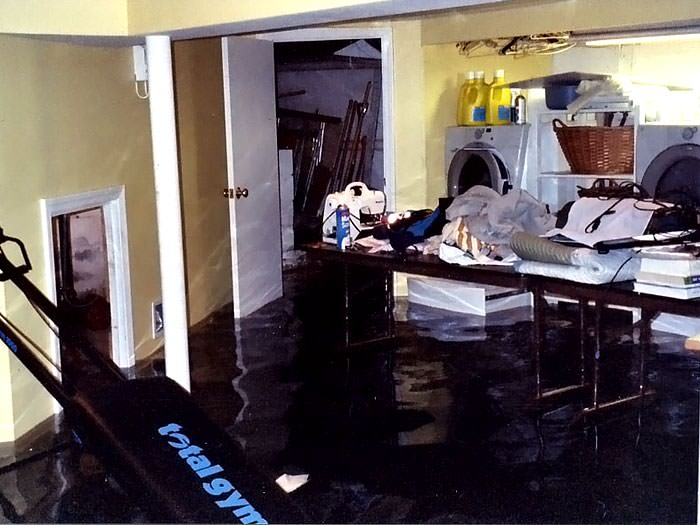 Basements Flooding From Plumbing Failures In South Bend