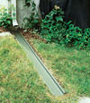 gutter drain extension installed in Walkerton, Indiana and Michigan