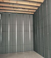 Thermal insulation panels for basement finishing in Mishawaka, Indiana and Michigan